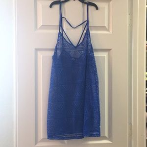 Blue Swim, Bikini, Bathing Suit Cover Medium